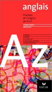 Anglais de A à Z, édition 2003