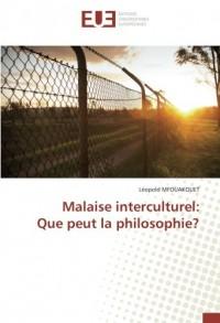 Malaise interculturel: Que peut la philosophie?