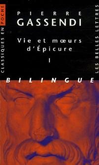 Vie et moeurs d'Epicure : Pack en 2 volumes, édition bilingue français-latin