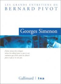 Les Grands entretiens de Bernard Pivot (DVD) : Georges Simenon