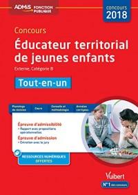 Concours Educateur Territorial de Jeunes Enfants Tout en un Cat B