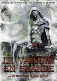 Le vampire en France des origines à nos jours