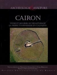 Cairon : vivre et mourir au néolithique : La Pierre Tourneresse en Calvados