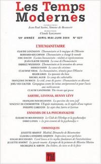 Les Temps Modernes, N° 627, Avril-Mai-Ju : L'Humanitaire