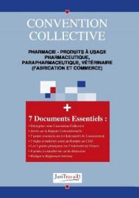 3063. Pharmacie - Produits à usage pharmaceutique, parapharmaceutique, vétérinaire (fabrication et commerce) Convention collective