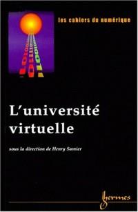 L'université virtuelle les cahiers du numerique vol 1 n 2 2000