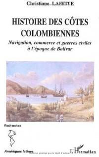 Histoire des cotes colombiennes