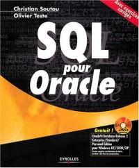 SQL pour Oracle : Avec exercices corrigés (1 livre + 1 DVD-Rom)