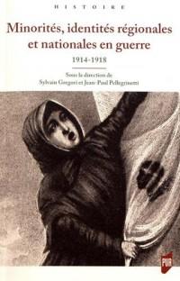 Minorités, identités régionales et nationales en guerre : 1914-1918