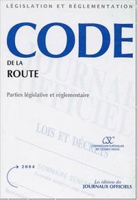 Code de la route : Parties législative et réglementaire