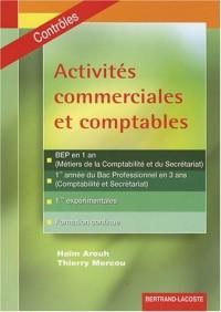 Activites commerciales et comptables : Contrôles