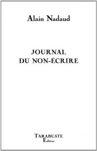 Journal du non-écrire