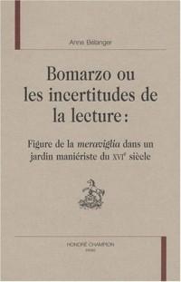 Bomarzo ou les incertitudes de la lecture