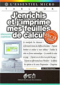 Feuilles de calcul Excel