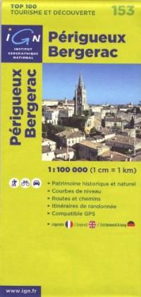 Périgueux Bergerac : 1/100000
