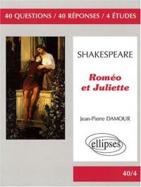 Shakespeare Romeo & Juliette