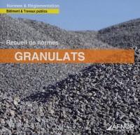 Recueil de normes Granulats