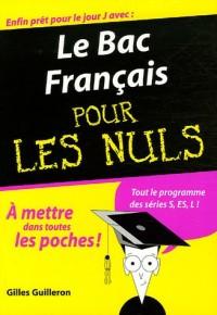 Le Bac Français pour les Nuls