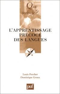 L'Apprentissage précoce des langues
