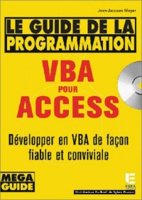 Le Guide de la programmation VBA pour Access