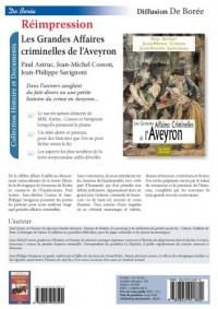 Les grandes affaires criminelles de l'Aveyron