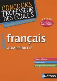 Français CRPE 2011 admissibilité