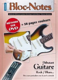 Bloc Notes Guitare Electrique Methode Tab DVD