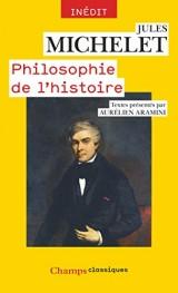 Michelet : Philosophe, historien