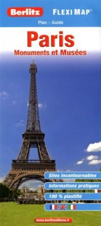 PARIS MONUMENTS ET MUSEES (FLEXI MAP)