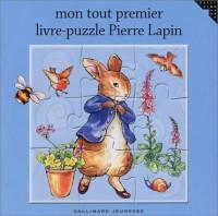Mon tout premier livre-puzzle Pierre Lapin