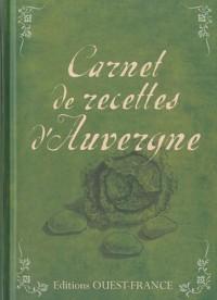 Carnet de recettes d'Auvergne