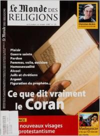 Mdr 25 Ce Que Dit Vraiment le Coran 09/2007