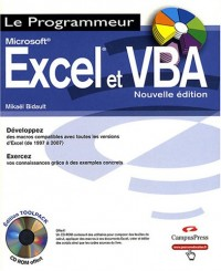 Excel 2007 et VBA versions 1997 à 2007