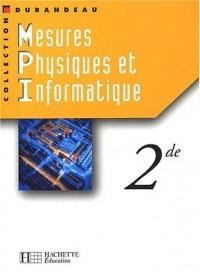 Mesures physiques et informatiques, 2nde