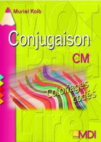 Coloriages codés Conjugaison CM