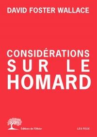 Considerations Sur le Homard