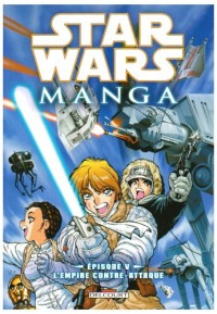 Star Wars Manga, Tome 5 : L'Empire contre-attaque