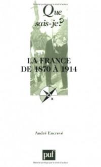 La France de 1870 à 1914 : Les succès de la République