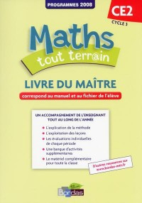 Maths Tout Terrain CE2 Livre du Maitre 2013