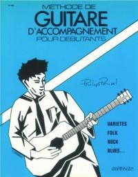 Parttion: Methode de guitare d'accompagnement pour debutants