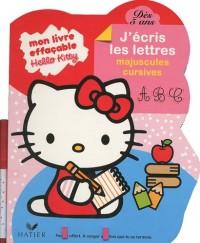 Hello Kitty : J'écris les lettres majuscules cursives, dès 5 ans