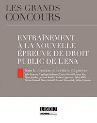 Entrainement à la nouvelle épreuve de droit public de l'ENA