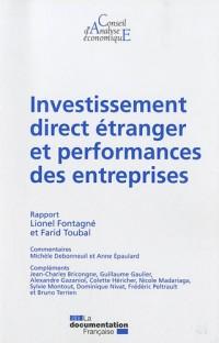 Investissement direct étranger (IDE) et performances des entreprises (CAE n.89)