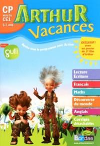 Cahier vacances Arthur CP/CE1