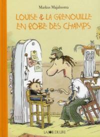 Louise et la Grenouille en Robe des Champs