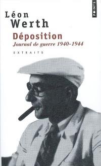 Déposition : Journal 1940-1944