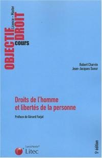 Droits de l'homme et libertés de la personne