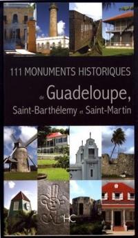 111 Monuments Historiques de Guadeloupe, Saint-Barthélemy et Saint-Martin