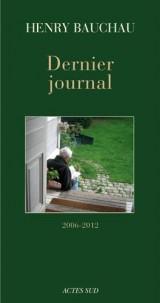 Dernier Journal (2006-2012)