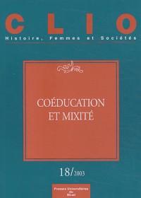 Coeducation et mixite revue clio nø18